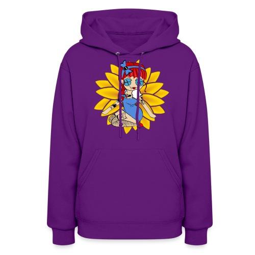 Kansas Women's Hooded Sweatshirt - Women's Hoodie