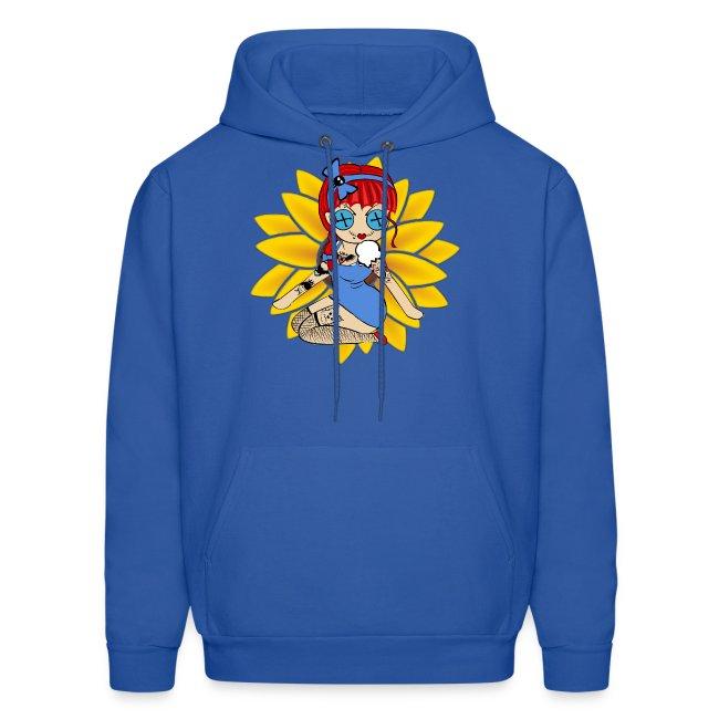 Kansas Men's Hooded Sweatshirt