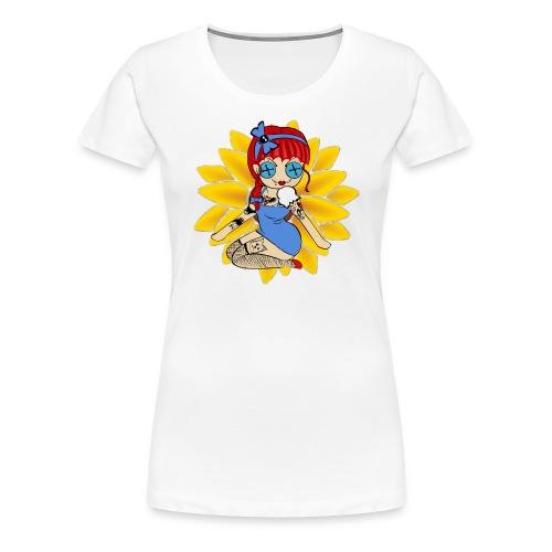 Kansas Women's Premium T-shirt - Women's Premium T-Shirt