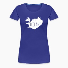 iceland Women's T-Shirts
