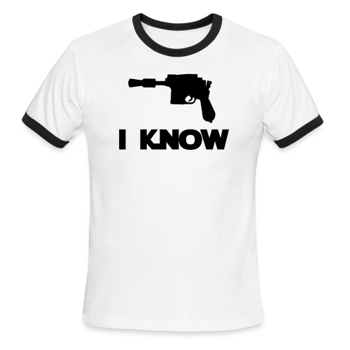 I Know_Star Wars Couple - Men's Ringer T-Shirt
