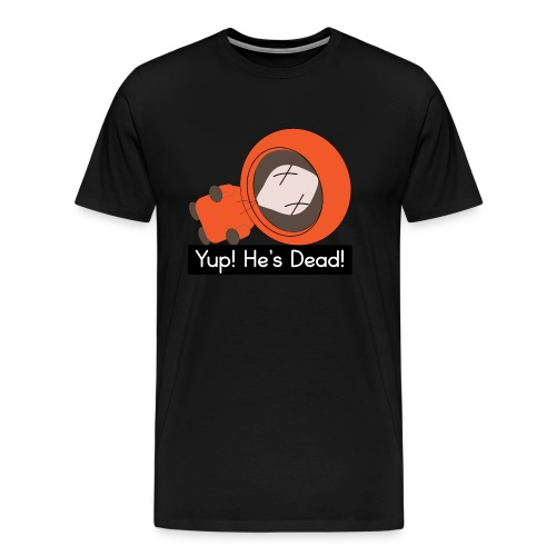 Kenny South Park Parody - Men's Premium T-Shirt