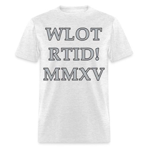 WLOT RTID MMXV - Men's T-Shirt