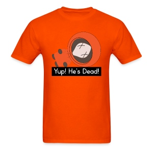 Kenny South Park Parody - Men's T-Shirt