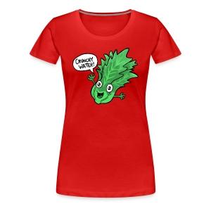Women's Crunchy Lettuce - Women's Premium T-Shirt