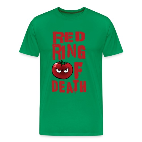 Men's Red Ring of Death - Men's Premium T-Shirt