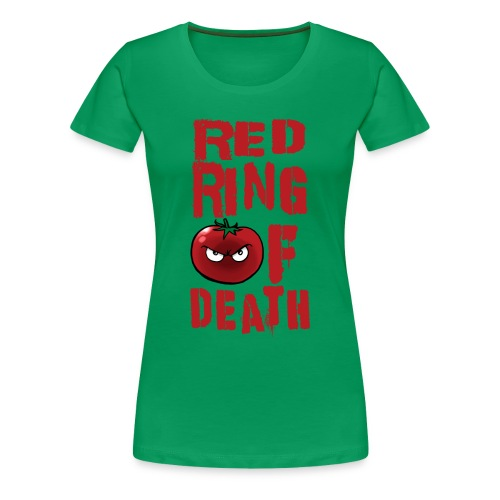 Women's Red Ring of Death - Women's Premium T-Shirt