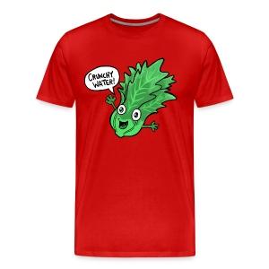 Men's Crunchy Lettuce - Men's Premium T-Shirt