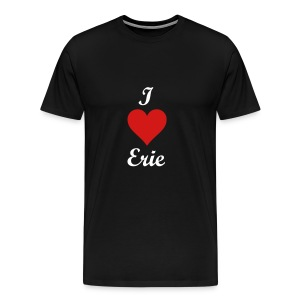 I Heart Erie - Men's Premium T-Shirt