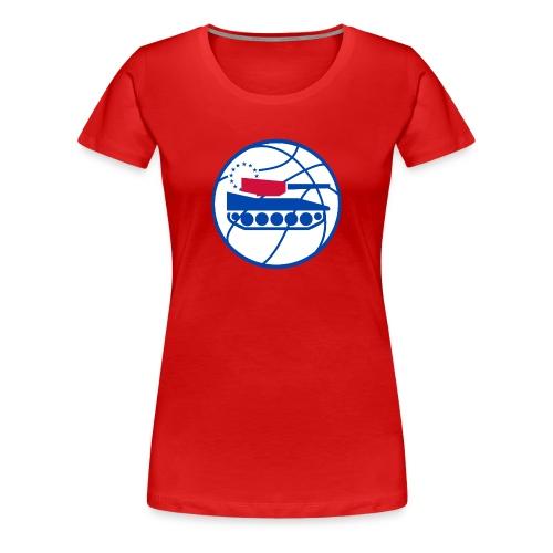 New Tankers Logo (W) - Women's Premium T-Shirt