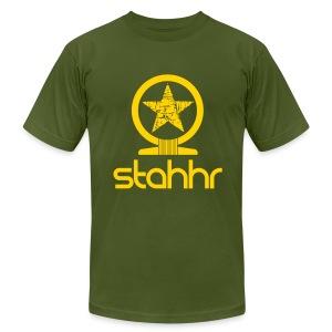 stahhr Shen AA yellow - Men's Fine Jersey T-Shirt