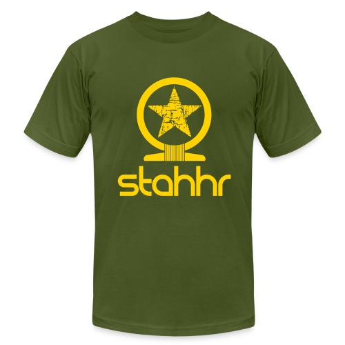stahhr Shen AA yellow - Men's Fine Jersey T-Shirt