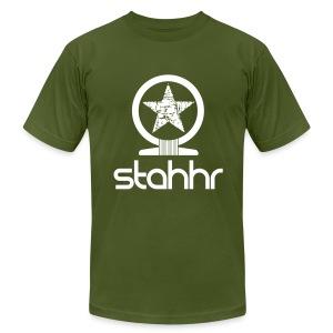 stahhr Shen AA white - Men's Fine Jersey T-Shirt