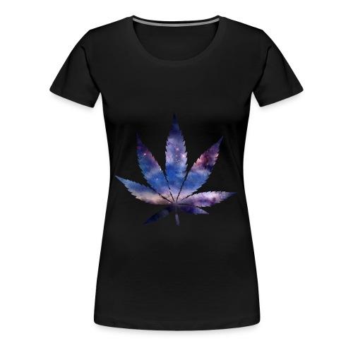 marijuana Leaf - Women's Premium T-Shirt