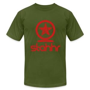 Stahhr Shen Mens AA red - Men's Fine Jersey T-Shirt