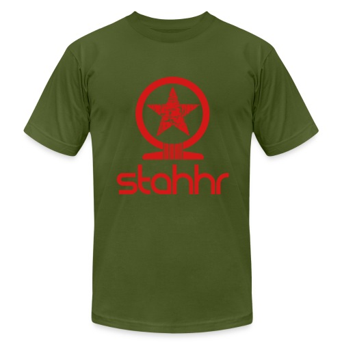 Stahhr Shen Mens AA red - Men's Fine Jersey T-Shirt