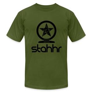 stahhr Shen AA Black - Men's Fine Jersey T-Shirt