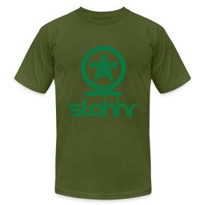 stahhr shen AA green - Men's Fine Jersey T-Shirt