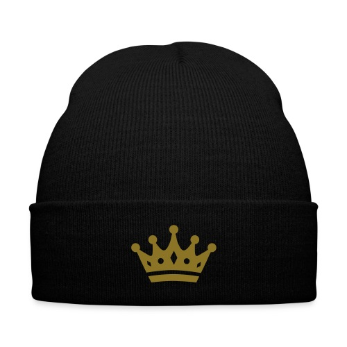 Royal Hat - Knit Cap with Cuff Print