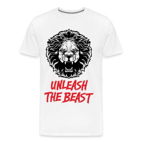 Lion - unleash the beast tee - Men's Premium T-Shirt
