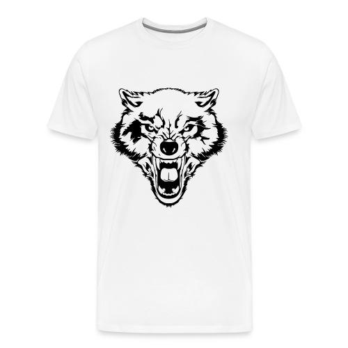 wolf tee - Men's Premium T-Shirt