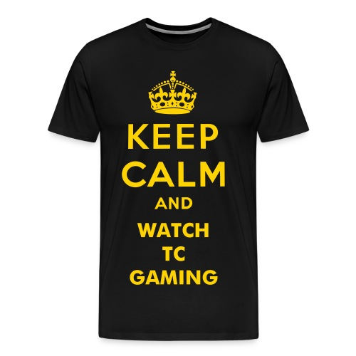 Keep Calm TC Shirt - Men's Premium T-Shirt