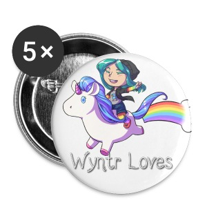 Unicorn Ride Buttons - Small Buttons