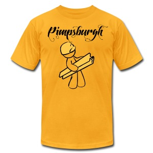 Pimpburgh  - Men's T-Shirt by American Apparel