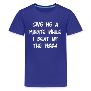 Kid's Beat Up The Pizza - Kids' Premium T-Shirt