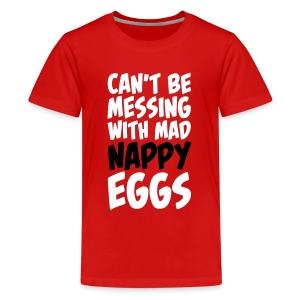 Kid's Nappy Eggs - Kids' Premium T-Shirt