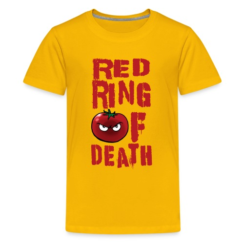 Kid's Red Ring of Death - Kids' Premium T-Shirt
