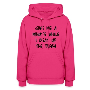Women's Beat Up The Pizza - Women's Hoodie