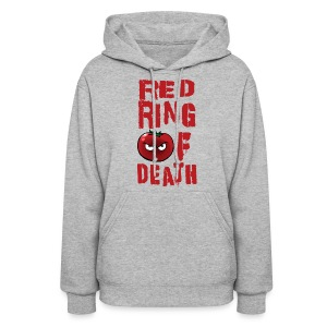 Women's Red Ring of Death - Women's Hoodie