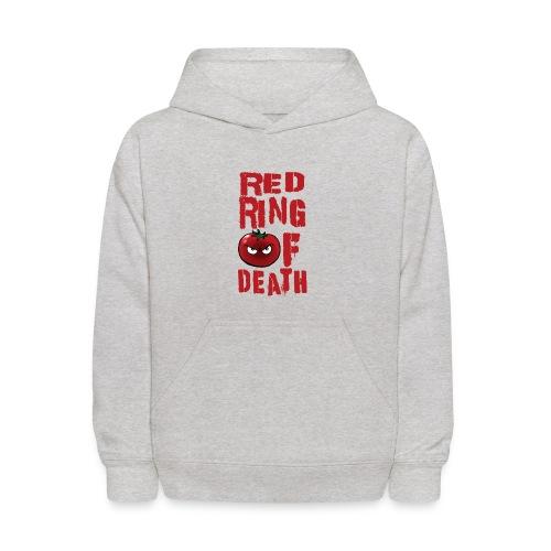 Kid's Red Ring of Death - Kids' Hoodie