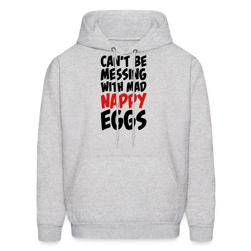 Men's Nappy Eggs - Men's Hoodie