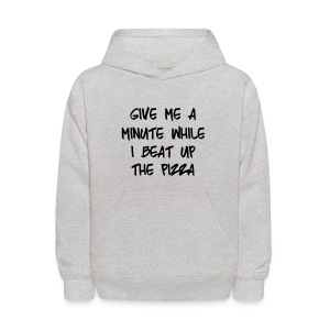 Kid's Beat Up The Pizza - Kids' Hoodie