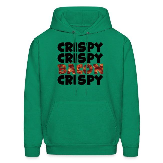 Men's Crispy, Crispy, Bacon, Cripsy (Black)
