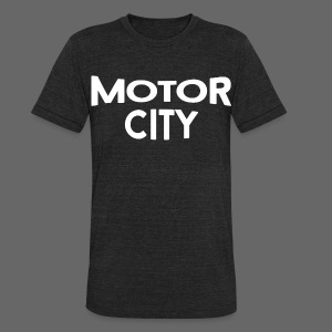 Motor City - Unisex Tri-Blend T-Shirt by American Apparel