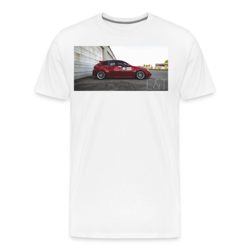 Evan's STi | The Side Shot - Men's Premium T-Shirt