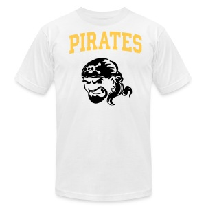 Pirates3 - Men's T-Shirt by American Apparel
