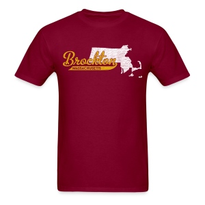 Brockton MA - Men's T-Shirt