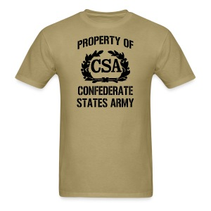 Property Of Confederate States Army Mens Gildan Shirt - Men's T-Shirt