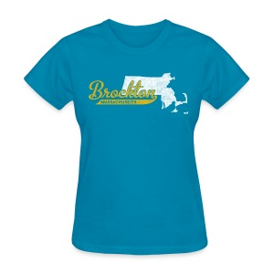 Brockton MA - Women's T-Shirt