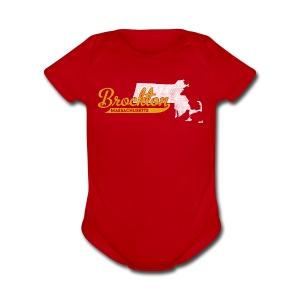 Brockton MA - Short Sleeve Baby Bodysuit
