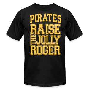Pirates4 - Men's T-Shirt by American Apparel