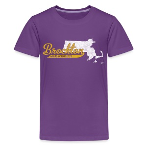 Brockton MA - Kids' Premium T-Shirt