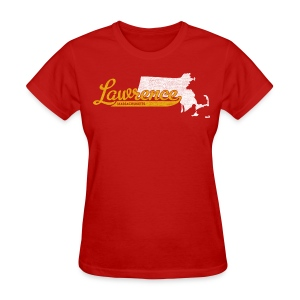 Lawrence MA - Women's T-Shirt