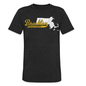 Brockton MA - Unisex Tri-Blend T-Shirt
