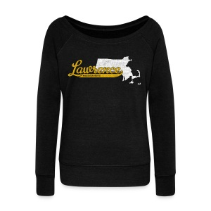 Lawrence MA - Women's Wideneck Sweatshirt