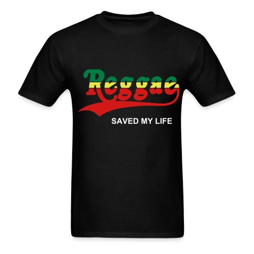 Reggae Saved My Life  (Men) - Men's T-Shirt